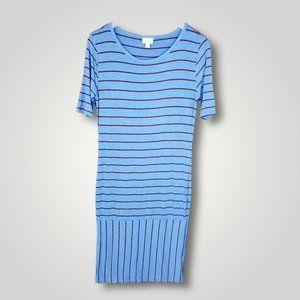 EUC LulaRoe Julia Striped Dress
